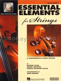 Essential Elements 2000 for Strings: Book 1 - Cello (Bk & CD)