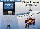 Hal Leonard Student Piano Library: Piano Lessons Instrumental Accompaniments 1 (General MIDI)