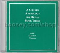 A Graded Anthology for Organ Book 3 (CD only)