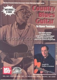 Country Blues Guitar In Open Tuning (Book & CD)