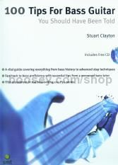 100 Tips For Bass Guitar (Book & CD)