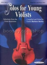 Solos for Young Violists, Vol. 2