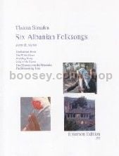 Six Albanian Folksongs for F/Eb Horn and Piano