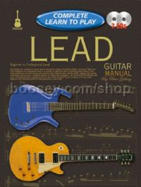 Complete Learn To Play Lead Guitar Manual & CDs
