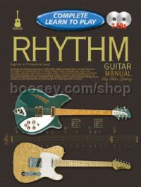 Complete Learn To Play Rhythm Guitar Manual & CDs