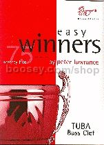 Easy Winners for Tuba (Bass Clef) (Book only)