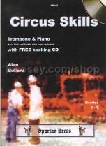 Circus Skills for Trombone & Piano (Book & CD)
