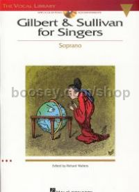 Gilbert & Sullivan for Singers Soprano (Book & CD)
