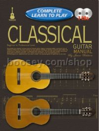 Complete Learn To Play Classical Guitar Manual & CD