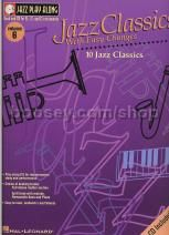 Jazz Play Along 06 Jazz Classics with Easy Changes (Jazz Play Along series) Book & CD