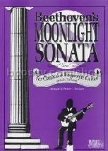Moonlight Sonata Classic/Fingerstyle (Guitar Tablature)