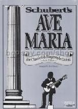 Ave Maria Classical/Fingerstyle (Guitar Tablature)