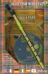 Scottish Whistle Pack Book with CD & Whistle