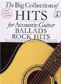 Big Collection of Hits Acoustic Guitar (Guitar Tablature) Slipcase
