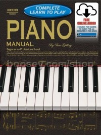 Complete Learn To Play Piano Manual & CDs