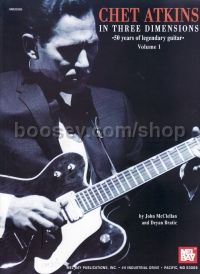Chet Atkins In Three Dimensions vol.1 Book Only