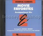 Essential Elements Folio: Movie Favorites - Accompaniment CD