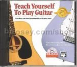 Teach Yourself To Play Guitar CD-Rom (CD Case)