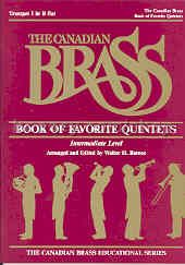 Canadian Brass Book Of Favourites Trumpet 1