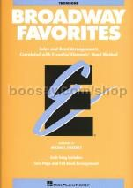 Essential Elements Folio: Broadway Favorites - Trombone