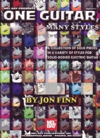 ONE GUITAR MANY STYLES For Electric Guitar (Bk & CD)
