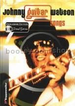 JOHNNY GUITAR WATSON SONGS H/B (Book & CD)