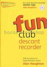 Fun Club Descant Recorder Grade 0-1 Teacher (Book & CD)