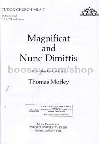 Magnificat & Nunc Dimittis from the First Service