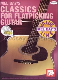 Classics for Flatpicking Guitar (Book & CD)