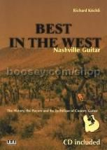 BEST IN THE WEST Nashville Guitar (Book & CD)