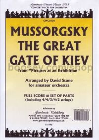Great Gate Of Kiev Orch Set