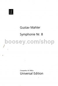 Symphony No.8 in Eb major (choral score)
