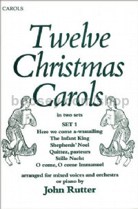12 Christmas Carols Set 1