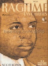 Ragtime Favourites for Viola (Book & CD)