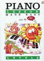 Piano Lessons Made Easy, Level 2