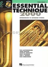 Essential Technique 2000 Book 3 Tuba (Book & CD)
