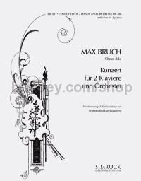 Concerto for Two Pianos and Orchestra Op. 88a. (Reduction for Three Pianos)