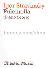 Pulcinella (piano/vocal score)