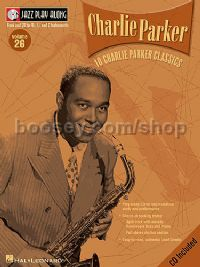Jazz Play Along 26 Charlie Parker (Jazz Play Along series) Book & CD
