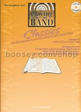 Playing With The Band Classics Alto Sax (Book & CD)