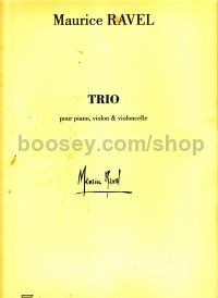Trio for violin, cello & piano (set of parts)