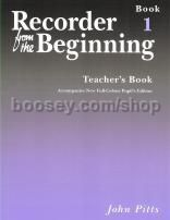 Recorder From The Beginning (new full-colour edition 2004) 1 Teachers