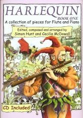 Harlequin Book 1 Flute/Piano (Book & CD)