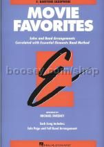 Essential Elements Folio: Movie Favorites - Eb Baritone Saxophone
