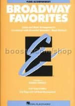 Essential Elements Folio: Broadway Favorites - Piano Accompaniment