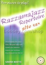 Razzamajazz Repertoire Alto Sax Watts Book & CD