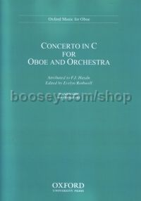 Concerto for oboe and orchestra (Reduction for oboe and piano) Oboe & piano