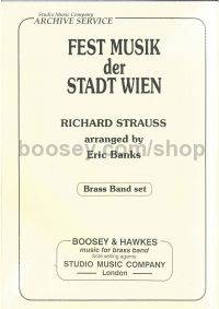 "Fanfare from ""Festmusik der Stadt Wien TrV 286/AV 133"" (brass band set)"