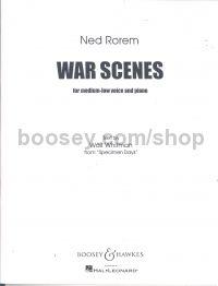 War Scenes - medium voice & piano