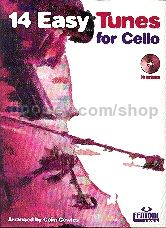 14 Easy Tunes for Cello (Bk & CD)